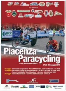 Poster Presentazione Piacenza Paracycling 2011